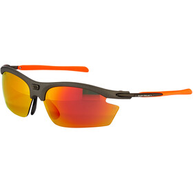 Rudy Project Rydon Cykelbriller, graphite - polar 3fx hdr multilaser orange